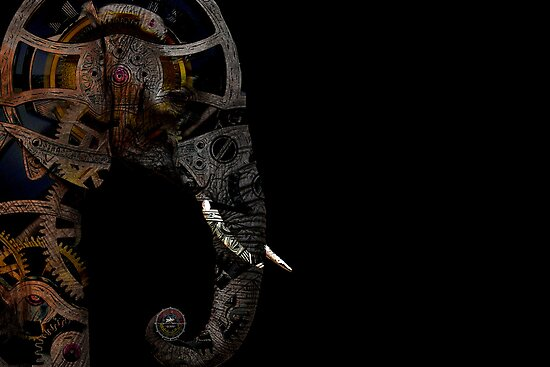clockwork elephant by david balber