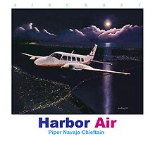 Harbor Air Piper Navajo Chieftan ver 2 by brianrolandart