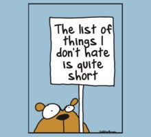 The list of things I hate is quite short by firstdog