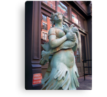 Mermaid in Manhattan Canvas Print
