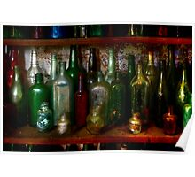 The bottle collection ~ Monte Cristo, Junee NSW Poster