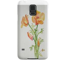 Bunch of California Poppies Samsung Galaxy Case/Skin