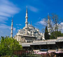 Blue Mosque by Dean Cunningham