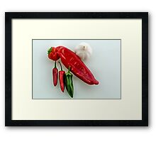 Chilli n Garlic Framed Print