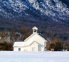 Page Valley Baptist Church by James Brotherton