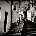 Lonesome musician by Morten Kristoffersen