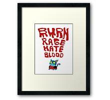 Dex Starr is my Kitty Cat Framed Print