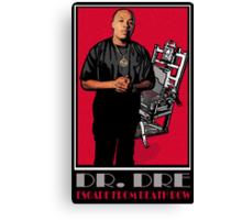 HIP-HOP ICONS: DR. DRE - ESCAPE FROM DEATH ROW Canvas Print