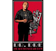 HIP-HOP ICONS: DR. DRE - ESCAPE FROM DEATH ROW Photographic Print