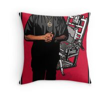 HIP-HOP ICONS: DR. DRE - ESCAPE FROM DEATH ROW Throw Pillow