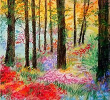 Enchanted Forest by Corrina Holyoake