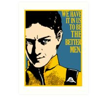 X-Men First Class: Charles Xavier Art Print