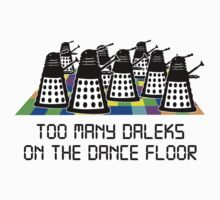 Too Many Daleks by ExcitementGang
