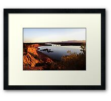 Redbanks - First Light Framed Print