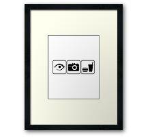 I Photograph Food Framed Print