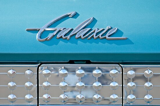 1961 Ford Galaxie Starliner Emblem by Jill Reger