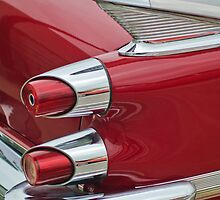 1959 Dodge Custom Royal Super D 500 Taillight by Jill Reger