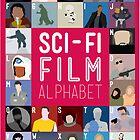The Sci-fi Film Alphabet by Stephen Wildish