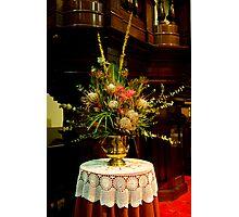 0315  Floral Arrangement Photographic Print