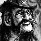 Lemmy caricature by MBJonly