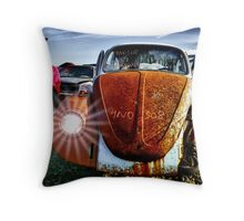 4No 308 ~ 69 VW Throw Pillow