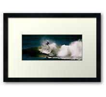 Big Invert at Shark Island Framed Print