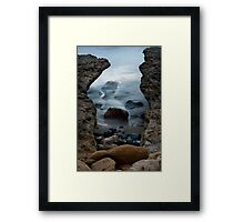 Smoke on the Water Framed Print