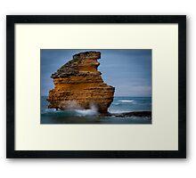 Aireys Rock Framed Print