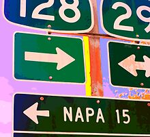 15 Miles to Napa by Robert Kobrzynski