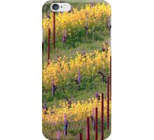 Mustard Plants Amongst Vines iPhone Case/Skin