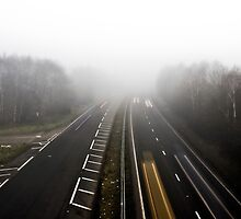Foggy Time Lapse by Tippeh