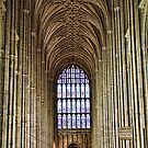West Window View Canterbury Cathedral by Dave Godden
