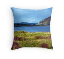 Hills And Heather Throw Pillow