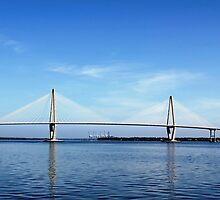 *Ravenel Bridge, Charleston SC* by Darlene Lankford Honeycutt