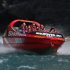 Shotover Jetboat in Queenstown NZ by Bryan Cossart