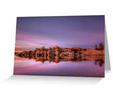 Approaching Dusk-Wide Greeting Card