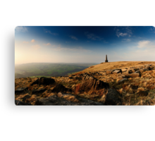 Stoodley Pike Panorama Canvas Print