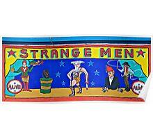 Strange Men at the Side Show @ Coney Poster