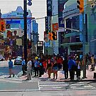 A Day In The Life Of Toronto  by Robert Burns