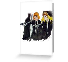 Pulp-Man-Ra Greeting Card