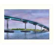 Bridging the Gap - Hindmarsh Island, South Australia Art Print