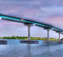Bridging the Gap - Hindmarsh Island, South Australia by Mark Richards
