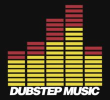 Equalizer Dubstep Music (red/yellow) by DropBass