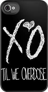 XO Til We Overdose (White) by Faded Fabrics