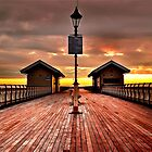 Penarth Pier - Wales by Dave Ward