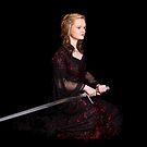 Portrait of a Welsh Princess by Raymond Kerr