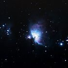 Messier 42, The Orion Nebula by CRHammond