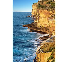 The Sea Cliffs Photographic Print