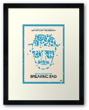 Breaking Bad Poster by Jens Arne  Larsen Aas
