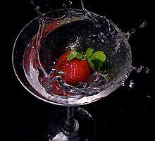 Strawberry Splash by Andre Faubert